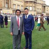 Queens Invites –   National Hockey Player To Buckingham Palace